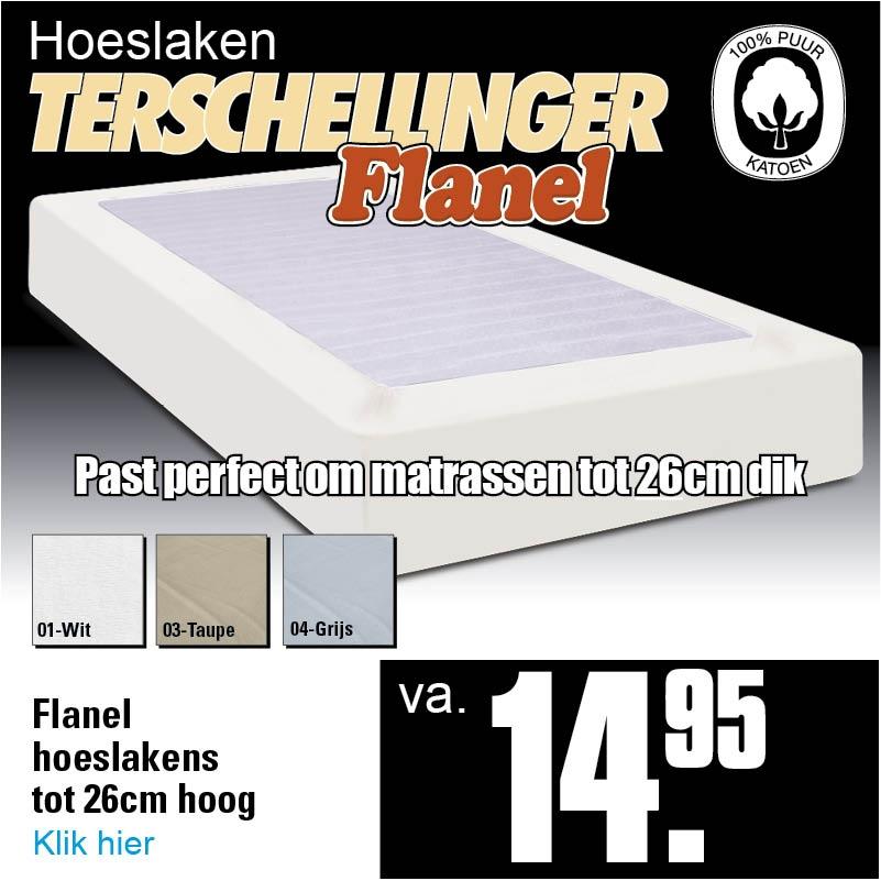 Flanel Hoeslakens