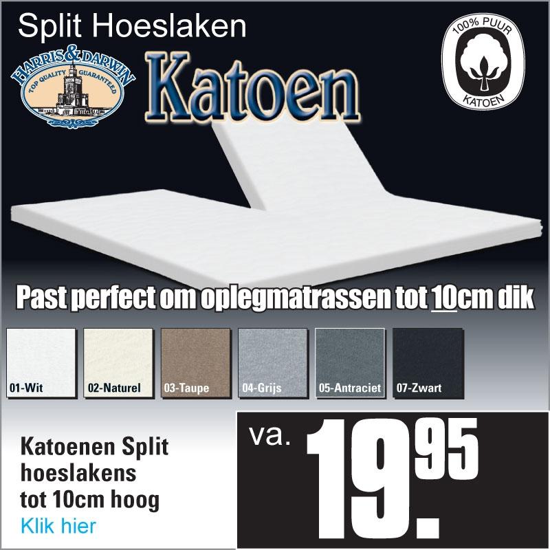 Split Topper Katoen