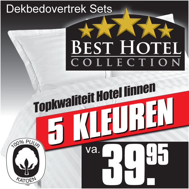 Best Hotel KatoenSatijn Dekbedovertrek