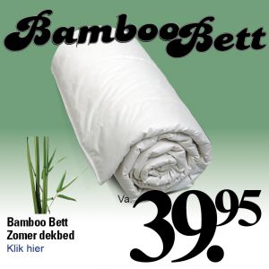 Zomerdekbed Bamboo Bett