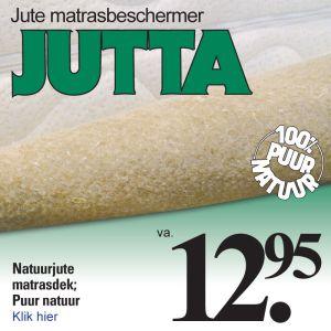 Natuur Jute Matrasbeschermer Jutta