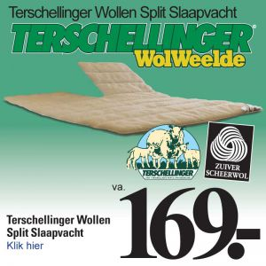 Terschellinger Wollen Split Slaapvacht
