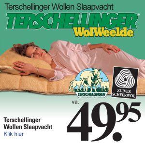 Terschellinger Wollen Slaapvacht